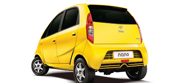 tata nano back pictures