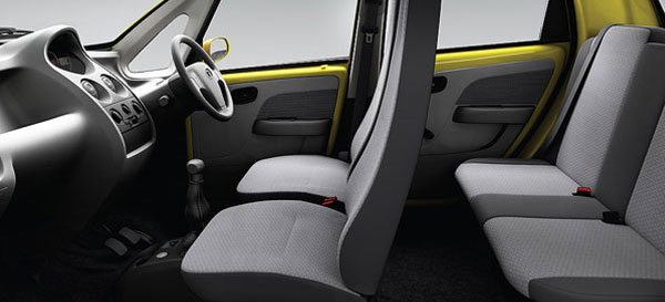 tata nano interior picture