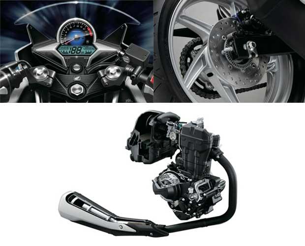 Honda CBR250R engine brakes