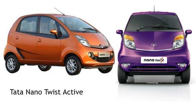 Tata Nano Twist Active