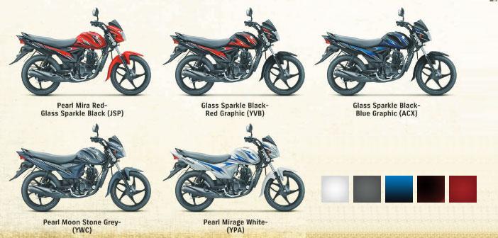 Suzuki Hayate Colors