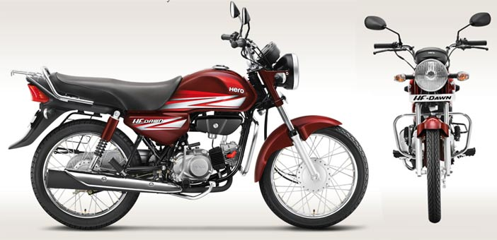 hero motocorp hf dawn