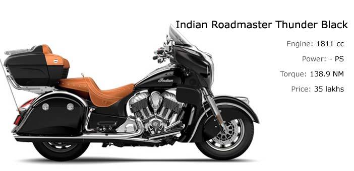 Indian Roadmaster Thunder Black India