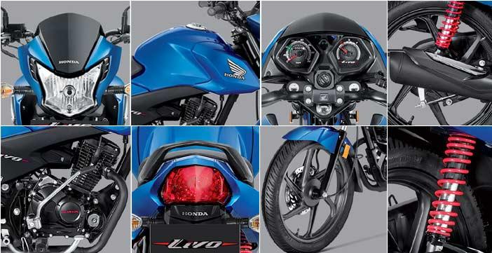 Honda Livo Design and Features
