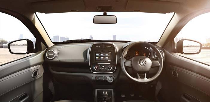 Renault Kwid Dashboard